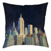 Manual Woodworkers & Weavers Midnight in Midtown Printed Throw Pillow