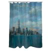 Manual Woodworkers & Weavers Manhattan Tower of Hope Shower Curtain