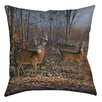 Manual Woodworkers & Weavers Lovers Lane Printed  Throw Pillow