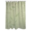 Manual Woodworkers & Weavers Leaves Narrow Shower Curtain