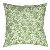 Manual Woodworkers & Weavers Rose Tonic Indoor/Outdoor Throw Pillow