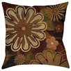 Manual Woodworkers & Weavers Floral Abstract I Printed Throw Pillow