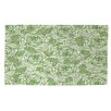 Manual Woodworkers & Weavers Rose Tonic Green Area Rug