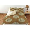 Manual Woodworkers & Weavers Bold in Blue Medallion Duvet Cover Collection