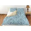 Manual Woodworkers & Weavers Damask Pattern Duvet Cover Collection