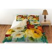 Manual Woodworkers & Weavers Flower Power 1 Duvet Cover Collection
