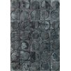 Bowron Sheepskin Shortwool Design Hand-Woven Grey Area Rug