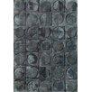 Bowron Sheepskin Handgewebter Teppich Shortwool in Grau