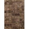 Bowron Sheepskin Handgewebter Teppich Shortwool in Braun