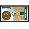 Holland Bar Stool NCAA Basketball Mirror Framed Graphic Art