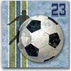 "ConceptsInTime ""Soccer Action"" Wall Plaque"