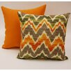 Dakotah Pillow Timissa 2 Piece Knife Edge Cotton Throw Pillow Set