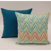 Dakotah Pillow 2 Piece Trend Spotter Knife Edge Cotton Throw Pillow Set