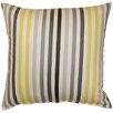 Dakotah Pillow Line Up Cotton Throw Pillow