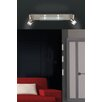 Paul Neuhaus Centura 4 Light Flush Ceiling Light