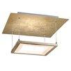 Paul Neuhaus Nevis 4 Light Semi Flush Ceiling Light