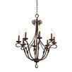 Kalco Vine 8 Light Chandelier