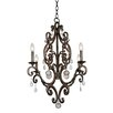 Kalco Montgomery 4 Light Candle Chandelier