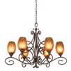 Kalco Amelie 6 Light Chandelier