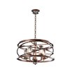 Kalco Eternity 5 Light Foyer Pendant