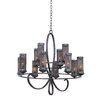 Kalco Delancy 12 Light Chandelier