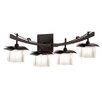 Kalco Nijo 4 Light Bath Vanity Light