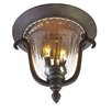 Kalco Santa Barbara 2 Light Flush Mount