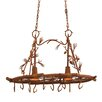 Kalco Ponderosa 2 Light Hanging Pat Rack