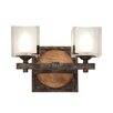 Kalco Hampton 2 Light Bath Vanity Light