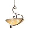 Kalco G-Cleft 5 Light Bowl Pendant