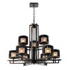 Kalco Stanley 9 Light Chandelier