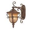 Kalco Tudor 3 Light Outdoor Wall Lantern