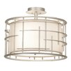 Kalco Atelier 3 Light Semi Flush Mount