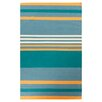 Angelo:Home Sheffield Market Pacific Blue Area Rug