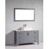 "Legion Furniture 48"" Single Bathroom Vanity Set with Mirror"