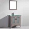 "Legion Furniture 36"" Solid Wood Single Sink Vanity Set with Mirror"