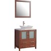"Legion Furniture 24"" Single Bathroom Vanity Set with Mirror"