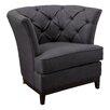 Home Loft Concepts Princeville Tufted Arm Chair