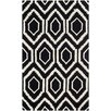 Safavieh Hand-Tufted Black/Ivory Area Rug