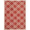 Safavieh Mason Red Indoor/Outdoor Area Rug