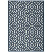 Safavieh Alexander Dark Blue Indoor/Outdoor Area Rug