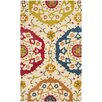 Safavieh Gold/Red Indoor/Outdoor Area Rug