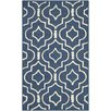 Safavieh Fitzpatrick Hand-Tufted Navy Blue/Ivory Area Rug