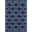 Safavieh Dhurrie Blue Area Rug