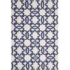 Safavieh Handgewebter Teppich Dhurrie in Elfenbein/Lila
