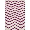 Safavieh Handgetufteter Teppich Newton in Elfenbein/Rosa