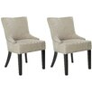 Safavieh Sawyer Upholstered Dining Chair (Set of 2)