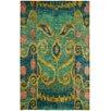 Safavieh Bristol Textural Hand-Knotted Indigo Spectrum Area Rug