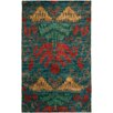 Safavieh Rochelle Hand-Knotted Green Rug
