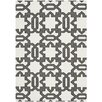 Safavieh Handgefertigter Teppich Dhurrie in Elfenbein/Grau